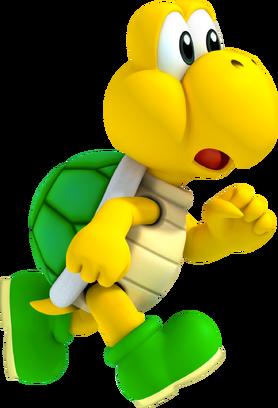 Koopa Troopa Artwork - New Super Mario Bros. 2