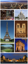 Collage of Paris