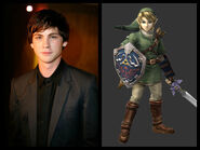 Logan Lerman as Link