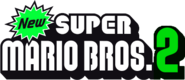 New Super Mario Bros 2 Logo