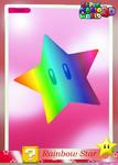 SMW3D RainbowStarTradingCard