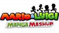 Mario and Luigi Manga Mashup Final Logo