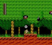 Mega Man 2 - NES - Wood Man Stage