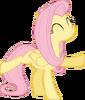 Dancing fluttershy vector