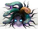 Medusahead art