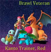 SSBC Roster Kanto Trainer, Red