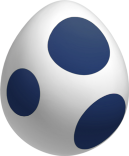 Navy Yoshi Egg