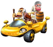 Cranky Kong and Wrinkely Kong