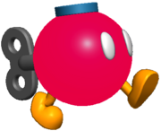 Bob-omb Buddy walking