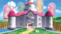 Stages peach's castle