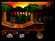 Congo Jungle SSB - Mario DK Fight