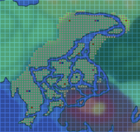 Alguis Marshes Map
