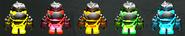 Rock Monsters (LEGO Power miners/Rock raiders Wii U)