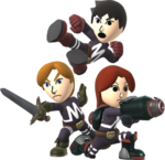 Fighting Mii Team SSB4