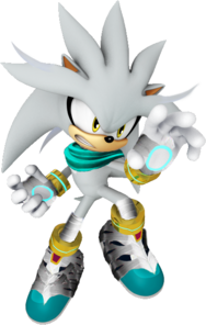 Sonic boom new silver render