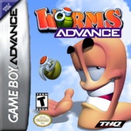Worms Advance GBA box