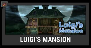 ACL -- Super Smash Bros. Switch stage box - Luigi's Mansion