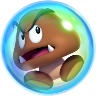 File:Bubble Goomba NSMBW2.png