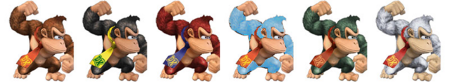 File:Donkey Kong Colors.png