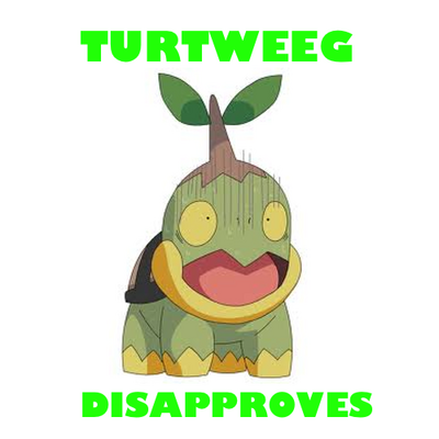Turtweeg Disapproves
