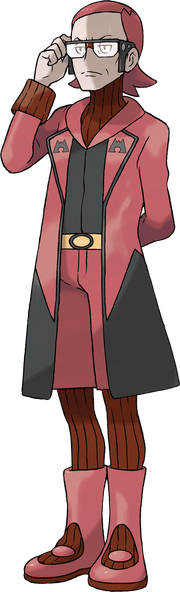 Pokemon ORAS Team Magma Boss Maxie