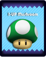 Super Mario & the Ludu Tree - Powerup 1-UP Mushroom