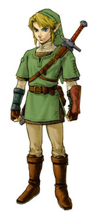 The Legend of zelda Twilight Princess Link costume ver 01-1-01