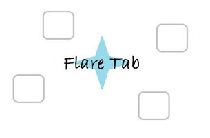 Flare Tab Logo