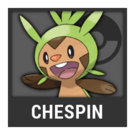 ACL -- Super Smash Bros. Switch Pokémon box - Chespin