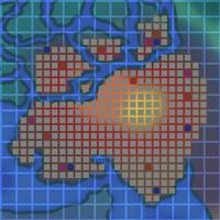 Avalanche Volcano Map