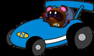 Nooki Nooki Boy Kart