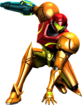 Samus Aran Super Smash Bros. Charged!!