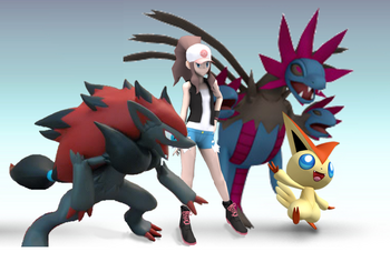 SSBL Pokemon trainer 2