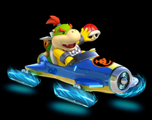 Bowser Jr. in Mario Kart 8