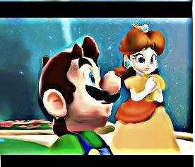 File:Daisy and Luigi together Underpainting 1.jpg