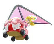 Peach in kart MK7
