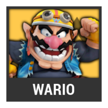 ACL -- Super Smash Bros. Switch character box - Wario
