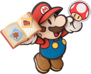 Mario (Paper Mario Sticker Star)