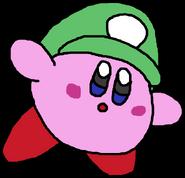 Plumber Kirby - Luigi