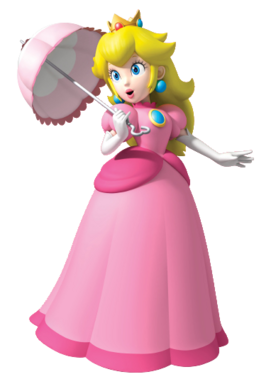 PeachwithParasol