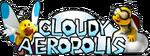 CloudyAeropolisLogo MK3DS