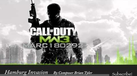MW3 Soundtrack Hamburg Invasion