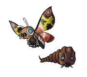 Mothra by ZappaZee