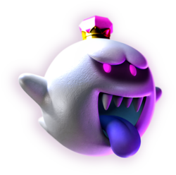 King Boo Artwork - Luigi's Mansion Dark Moon