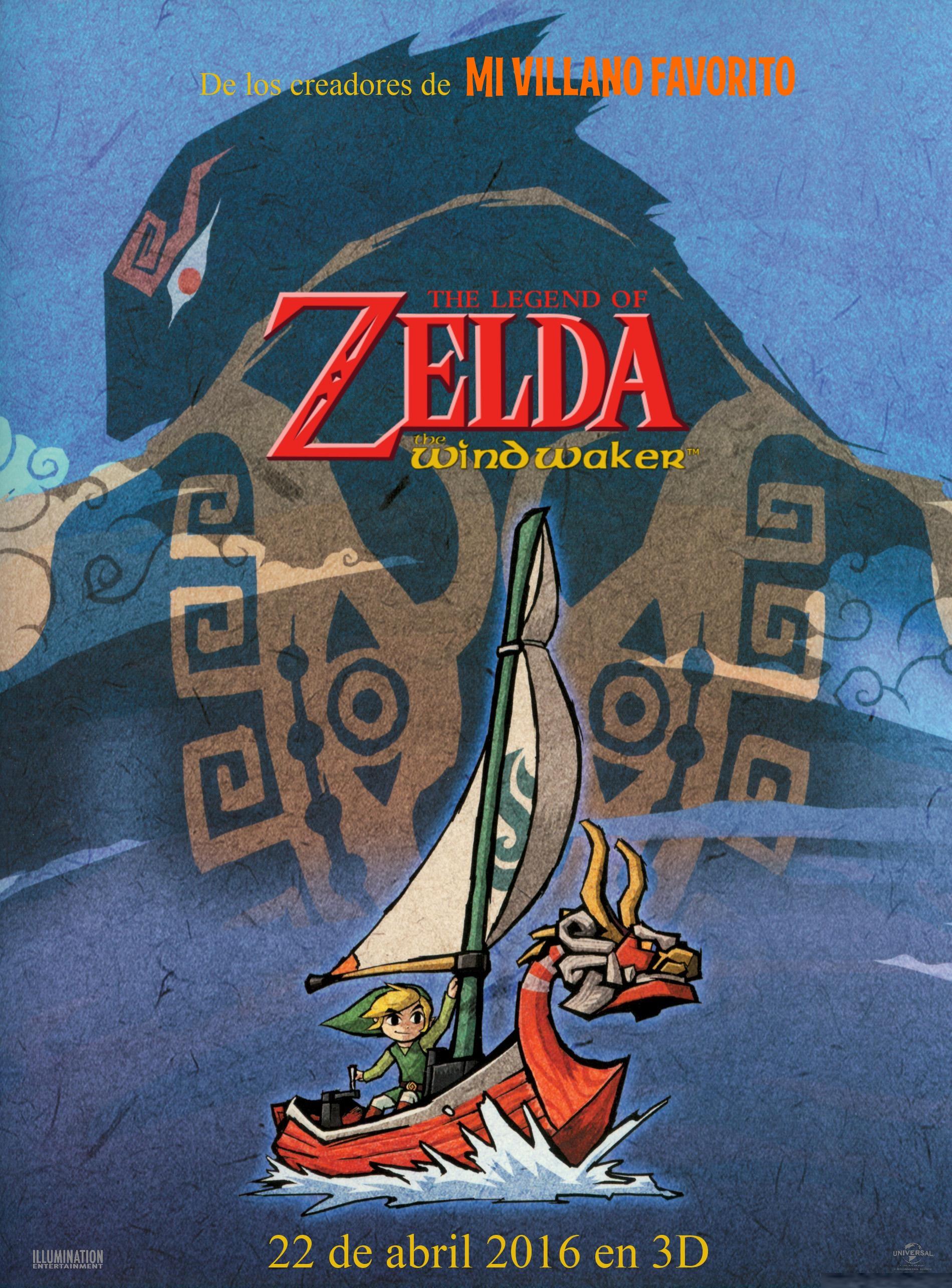 Legend Of Zelda Wind Waker Poster Image - The Wind Waker...