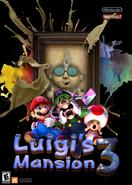 Luigi's Mansion 3 Portrait Panic - Cover Art