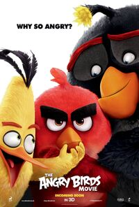 The Angry Birds Movie UK Poster