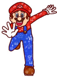 Mario blings it up