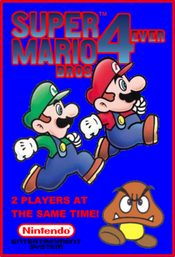 Super Mario Bros. 4ever Boxart