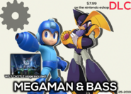 Megaman and BassSSBVDLCPromo